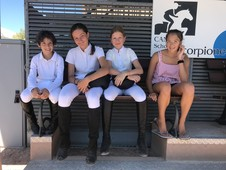 Riding School Students